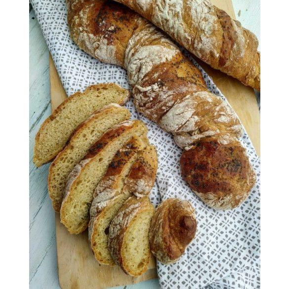 Bio világos alakor kenyérsütő keverék szett