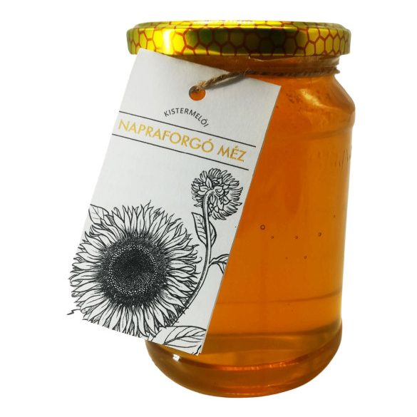 Bodrogzugi napraforgó méz 1000g