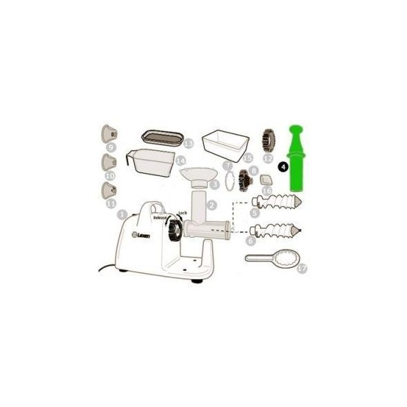 Betoló rúd elektromos préshez (4)