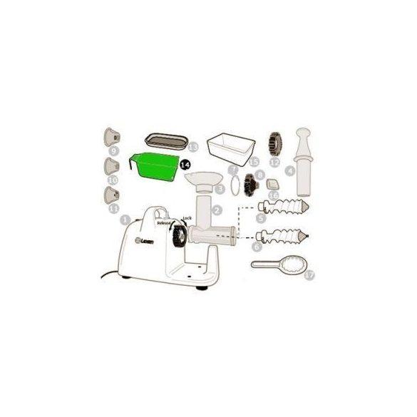 Légyűjtő edény elektromos préshez (14)