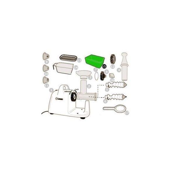 Hulladékgyűjtő pohár elektromos préshez (15)
