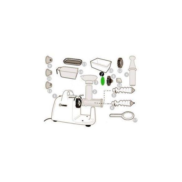 Szilikon tömítőgyűrű elektromos préshez (7)