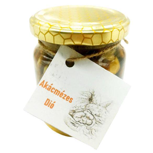 """Bodrogzugi méz """"Akácmézes dió"""" 250g"""