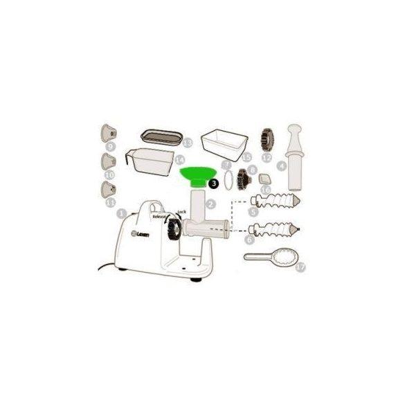 Tölcsér elektromos préshez (3)