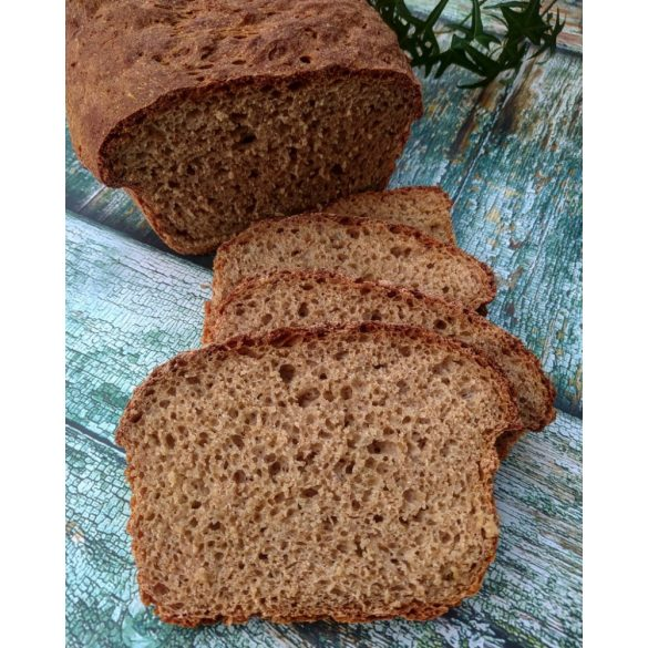 Bio ősi gabona teljes őrlésű kenyérsütő keverék 500g