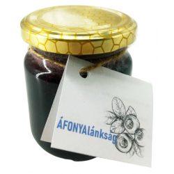 """Bodrogzugi méz """"Áfonyalánkság"""" 250g"""
