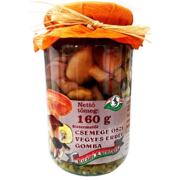 Csemege őszi vegyes erdei gomba 160g