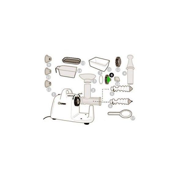 Leszorító sapka elektromos préshez (8)