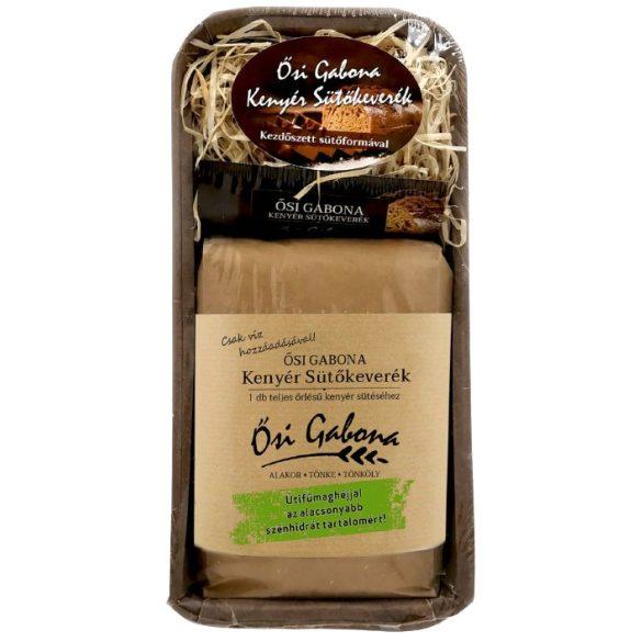 Bio ősi gabona kenyérsütő szett útifű maghéjjal