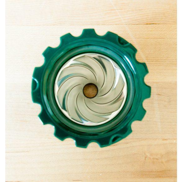 Leszorító sapka HJ kézi préshez - zöld (7)