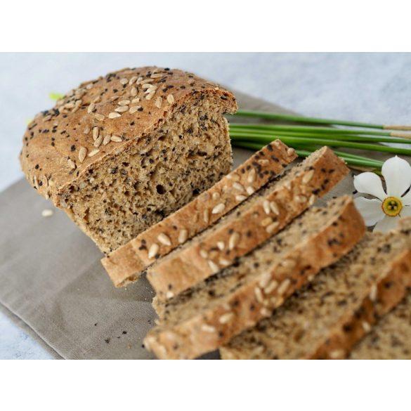 Bio alakor teljes őrlésű kenyér sütőkeverék szett