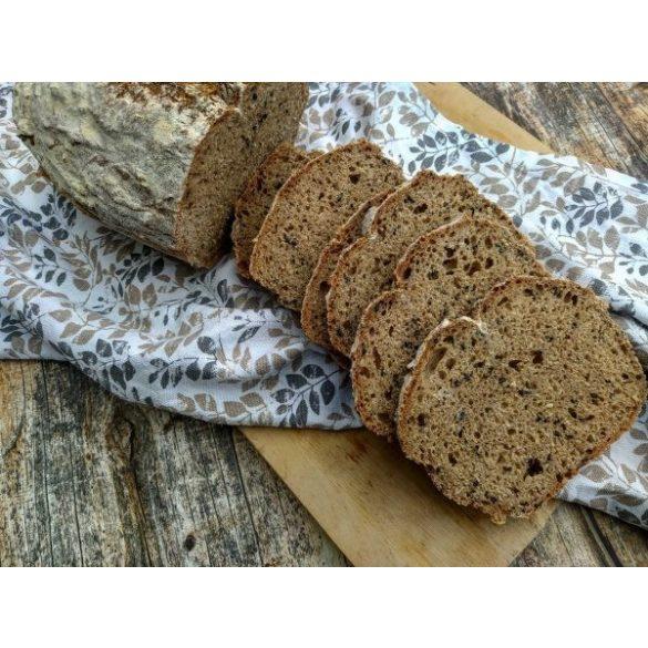 Bio tönköly teljes őrlésű kenyér sütőkeverék szett