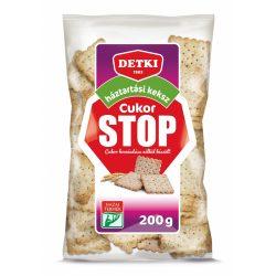 Detki Cukor Stop háztartási keksz 200g