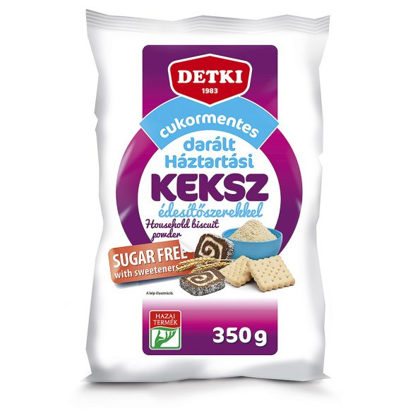 Detki cukormentes darált háztartási keksz édesítőszerekkel 350g