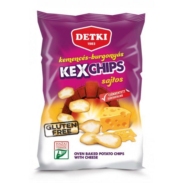 Detki sajtos kexchips (gluténmentes) 75g