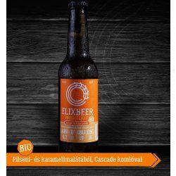 Bio Elixbeer Bright Light - Kézműves szűrt láger sör 0,33l