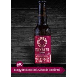 Bio Elixbeer Grana - Kézműves gránátalmás láger sör 0,33l