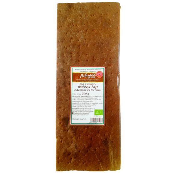 Bio tönköly mézes sütemény és tortalap 200g (3 lap/csomag)