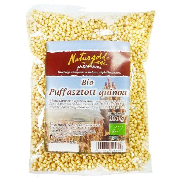 Bio puffasztott natúr quinoa 100g