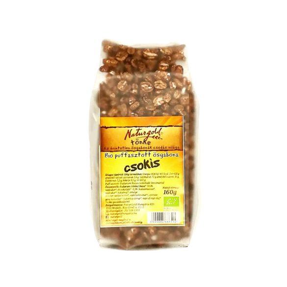 Bio puffasztott ősgabona csokis 160g