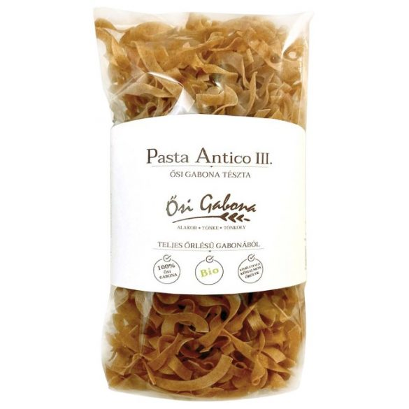 Pasta Antico III. Bio ősi gabona szélesmetélt tészta 200g