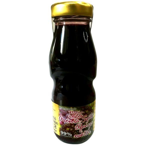 Cukormentes natúr rostos arónia-szőlő-áfonya nektár 200ml