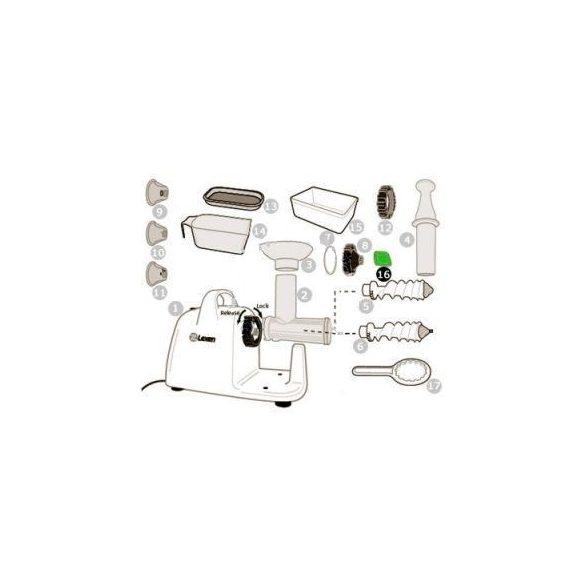 Fröcsögés gátló elektromos préshez (16)