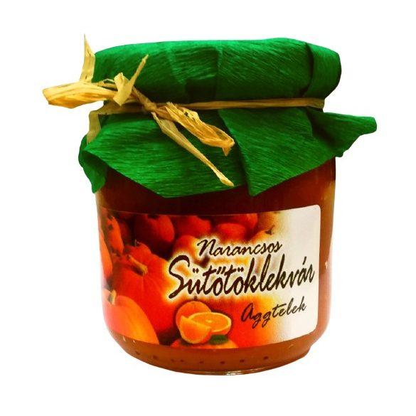 Narancsos sütőtöklekvár 220g