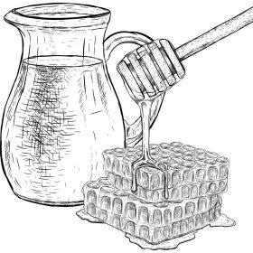 Mézes termékek